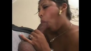 Gorgeous indian beauty Bindi with juicy round butt is happy to meet with huge sausage of lustful womanizer