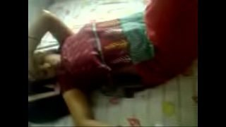 Indian housewife enjoying with boyfriend when hubby is out