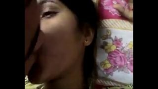 kissing with my girl friend