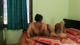 Mature Desi MILF Hot Pussy Fucking Young Tight Indian Cock Of College Boy