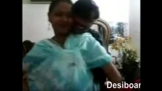 New married hindu couple having  a romantic time hot sex