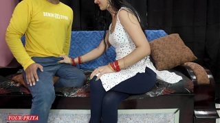 Priya teaches her brother how to satisfied her future wife at first night in clear hindi voice