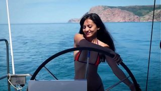 Shrima Malati fucked during holidays homevideo with Jean-Marie Corda