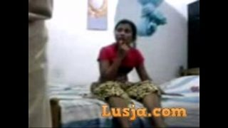 Traditional Indian couple foreplay and blowjob tight pussy fuck
